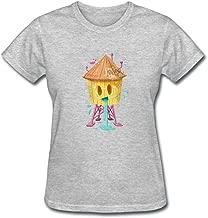 Fastty Women's Happy Water DIY Sleeve T Shirt