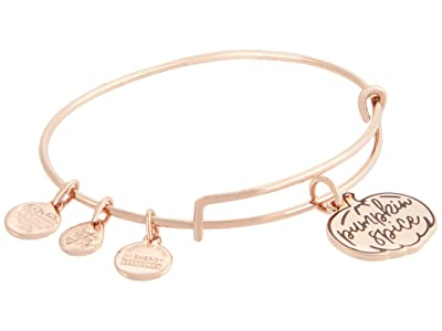 Alex and Ani Color Infusion, Pumpkin Spice II Bangle Bracelet (Shiny Rose Gold) Bracelet