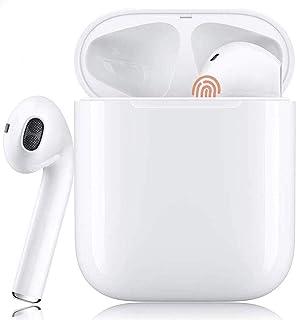 Auriculares Inalámbricos, Auriculares TWS Bluetooth 5.0 con microfono,HiFi Estéreo,Control Táctil,Cancelación de Ruido,IPX...