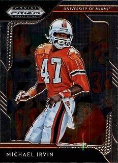 2019 Panini Prizm Draft Picks #65 Michael Irvin Miami Hurricanes Football Card
