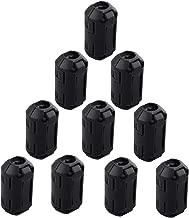 LifeLire 10Pcs Clip de c/âble noir Clip de serrage RFI EMI Filtre de bruit EMC Ferrite Core Case