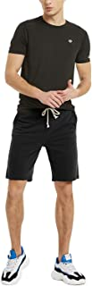 Zengjo Mens Shorts Cotton Jogger Shorts with Pockets