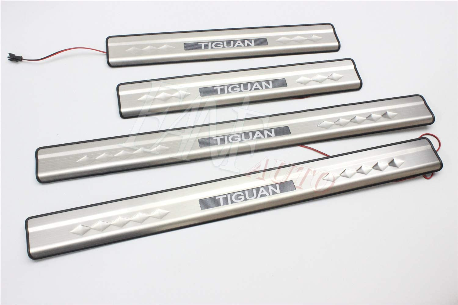 FANFAUTO Stainless Steel Max 53% OFF Door Sill Trim Sale Entry Protector Gu Cover