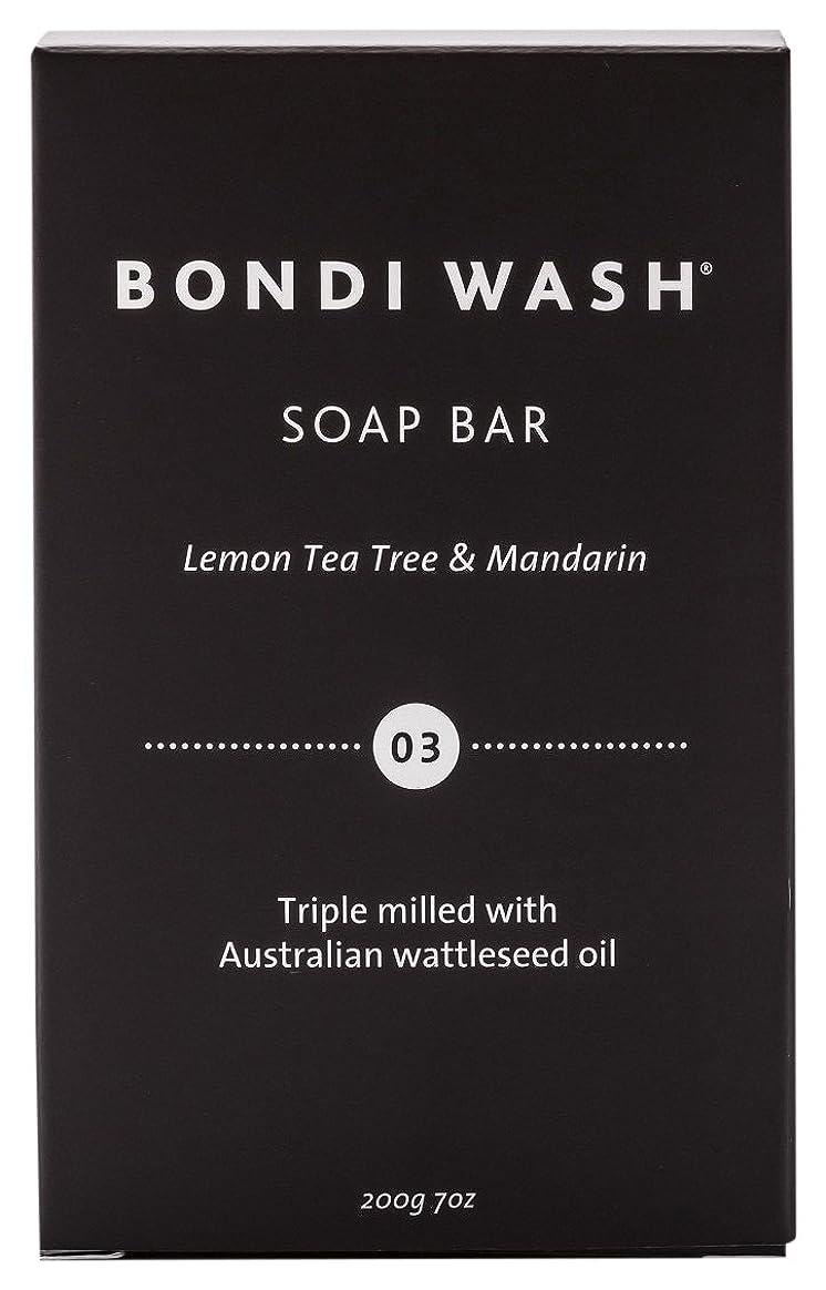 ボイコットパス中世のBONDI WASH ソープバー(固形石鹸) レモンティーツリー&マンダリン 200g