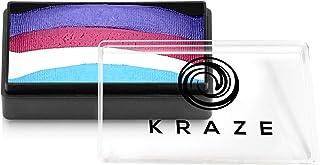 Kraze FX Dome Stroke - Unicorn Dreams (25 gm), Professional 1-Stroke Split Cake, Hypoallergenic, Non-Toxic, Water Activate...