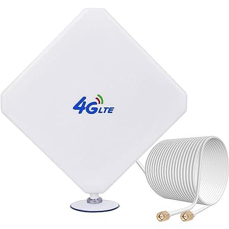 4G Antenne SMA Amplificateur De Signal à Haut Gain 35dBi 3G/4G LTE Antenne 4G réseau avec connecteur SMA pour Modem Routeur USB AirCard Huawei Mobile Huawei E398 B525 E5175 B310