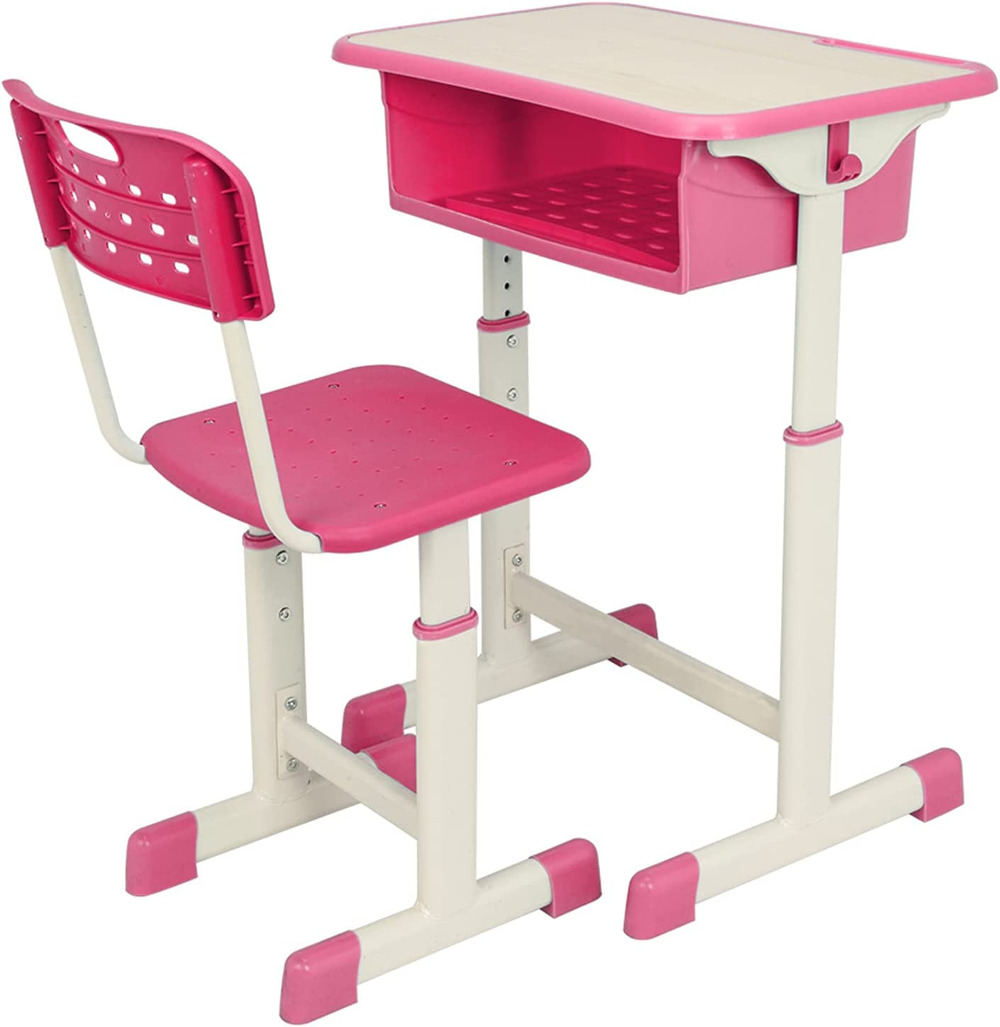cossepair GT4-OXJ Adjustable Student Desk New Shipping Free Shipping Limited price sale Pink Kit Chair and