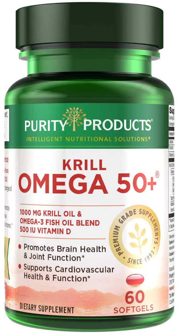 Krill Popular products Omega 50+ - 60 from Softgels Overseas parallel import regular item Products Purity