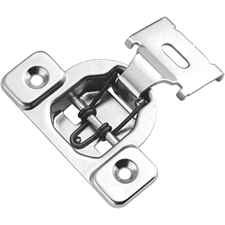 6125ddd0-a222-11e9-8d7c-4cedfbbbda4e X-Dr 85mm Length Concealed Self Close Inset Cabinet Door Hinges Silver Tone 2pcs