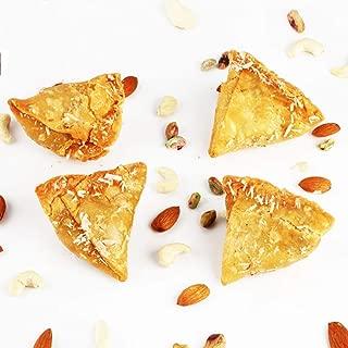 Ghasitaram Gifts Indian Sweets (Mumbai), Holi Sweets, Authentic Indian, Sugarfree Sweets Samosa Gujiya 800 Grams