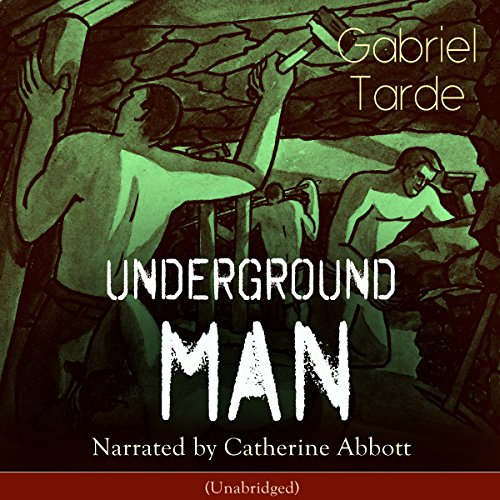 Underground Man audiobook cover art