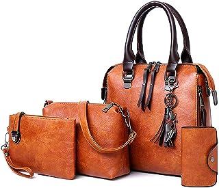 كوبس حقيبة للنساء-بني محروق - مجموعة حقائب اليد