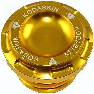 PRO-KODASKIN Motorcycle Aluminum Fuel Gas Tank Oil Cap for XL1200V Sportster 1200 XL1200C XL1200L XL1200N XL1200R Sportster883 XL883L (Gold)