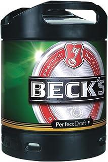 Becks Pils Perfect Draft cerveza de barril 6 litro 4,9% vol.
