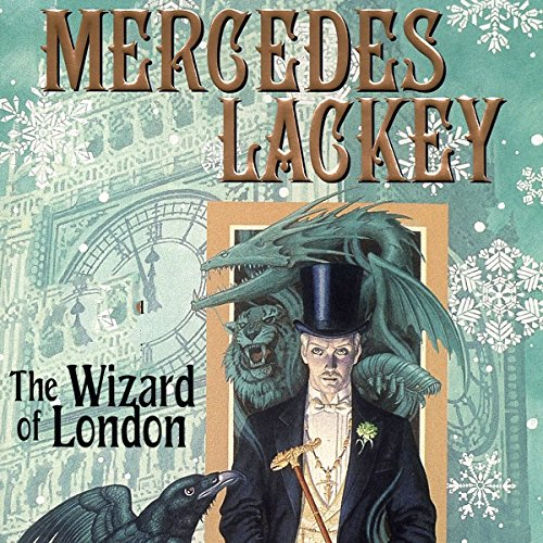 The Wizard of London audiobook cover art