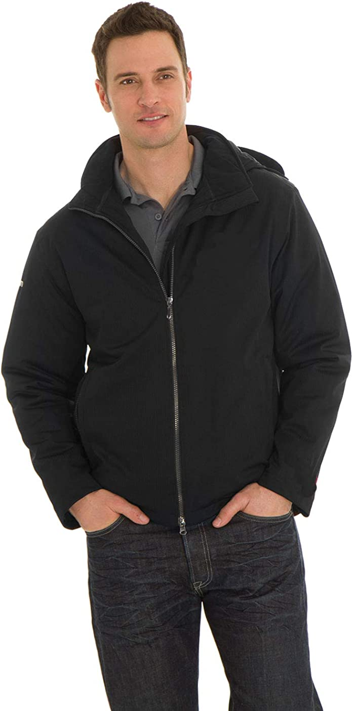 Men's Classic Critically Seam Sealed Jacket With Detachable Hood FW3113 THIS CLASSIC JACKET IS PACKED WITH FEATURES THAT ARE SURE TO IMPRESS