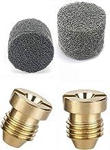 Stone Banken 1,1mm Schuim Cannon Orifice Nozzle Tips en Foam Maker, Vervangende Accessoires voor sneeuw Schuim Cannon 2 Pair