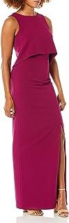 Black Halo Womens 3598805 Kacie 2 Pc Maxi Sleeveless Dress