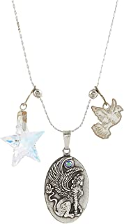Alex and Ani Sphinx Necklace Set Silver One Size