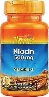 Niacin 500mg Thompson 30 Tabs