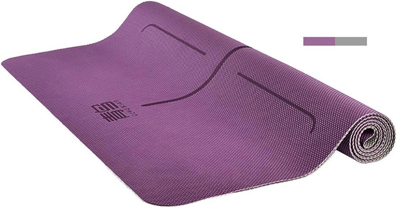 Lmzyan 2mmTPE Yoga Matte 183  68CM Verlngerung Anti-Rutsch Fitness Mat Yoga Shop Handtuch