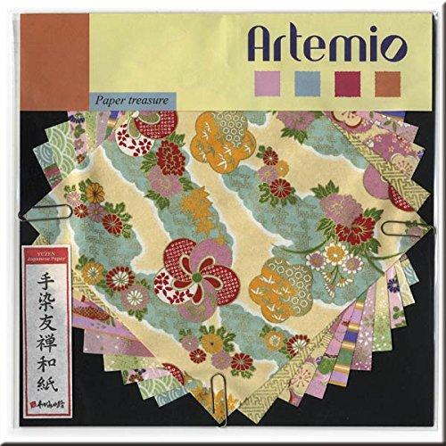 Artemio - Papeles japoneses yuzen, Tonos Pasteles