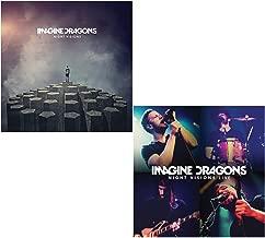 Night Visions - Night Visions Live (CD + DVD) - Imagine Dragons 2 CD Album Bundling
