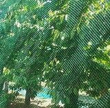 Unbekannt Vogelschutznetz Laubnetz Gartennetz Teichnetz Pflanzenschutznetz 14 Größen (8x14 m)