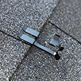 Grip Clip Roof Clips for Installing Heat Tape, Prevents Ice Dam Damage to Roof and Gutters...