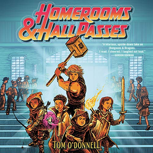 Homerooms and Hall Passes audiobook cover art