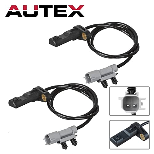 ABS Rear Brake Sensor: Amazon com