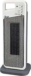 Ardes ar4p12Calefactor cerámico PTC a torre oscilante, 2Potenze con mando a distancia, temporizador, filtro anti polvo y asa integrada, 2000W, color blanco/gris