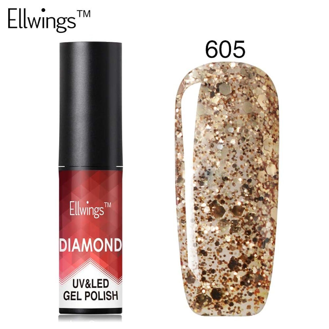 取り消すなので不幸ファッション ネイルジェル ダイヤモンド グリッター ネイルアート ソークオフ UV LED ジェルネイルポリッシュ プラチナジェルポリッシュ Cutelove