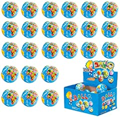 Set of 24 PU Soft Foam World Map Earth Stress Balls. Comes with a globe design printed with world map. Squeezable, Educational & Fun. Soft and durable, it can back to its original adorable form after squeezing. Great for parties, door prizes, or clas...