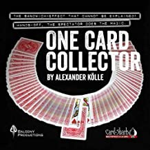 SOLOMAGIA One Card Collector by Alexander Kolle and Card Shark (DVD & Gimmick) - Trucos Magia y la Magia - Magic Tricks and Props