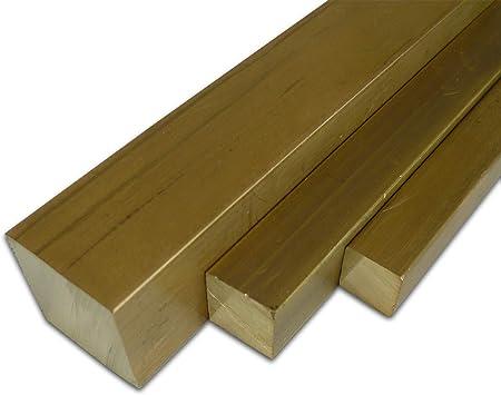L/änge ca massiv 1,0 m   Flachstange MS58 Ma/ße HxB: 6 x 12 mm B/&T Metall Messing Flach CuZn39Pb3