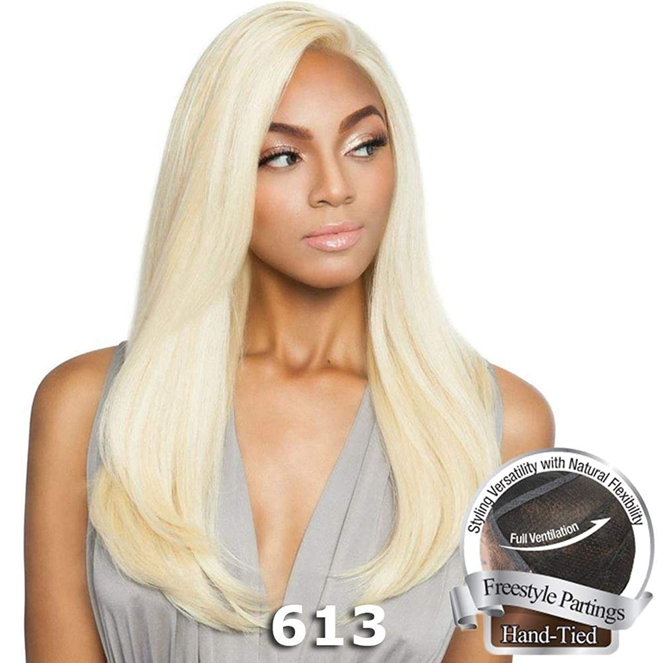 Brown Sugar Human Hair Blend Whole Lace Wig - BS411 Color: P4/27/30