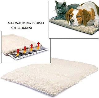 Gugutogo Auto Calefacción Perro Gato Protectora Cama para Mascotas Térmica Lavable Pas de Manta Eléctrica