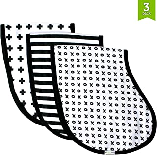 Best black and white burp cloths Reviews