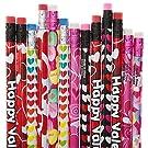 3 Dozen (36) Valentine's Pencil Assortment
