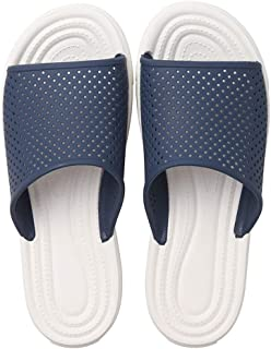 Shower Soft Slippers, Garden Quick Drying Home Swimming Summer Sandals, Bathroom Quick Drying Beach Shoes,Blue,XXL