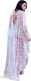 Wander Agio Womens Conservative Bikini Cover Up Beach Kimono Coverups Robe Pringting Covers