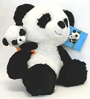 Hugfun Mother Mama Panda Bear W Baby St. Jude's Plush Stuffed Animal 15