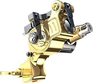 Extreme X2 Rotary Tattoo machine Gun Brass Frame verstelbare Stroke RCA-kabel voor Tattoo Artist
