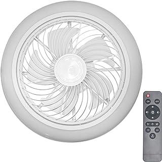 XIYUN 天井ファン LEDシーリングライト シーリングファン リモコン付き サイレント シーリングファンライト 工事不要 簡単取付 三段風速、調光調色、6畳~10畳 子供部屋 居間 寝室 和室 オフィス 北欧 リビング 照明 45cm 35W