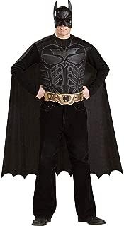 BuySeasons Batman Dark Knight - Batman Adult Costume Kit One Size Black