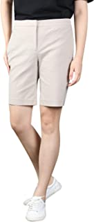 KELLY KLARK Walking Shorts Women, Casual Stretch Elegant Golf Bermuda Shorts