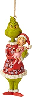 Enesco Dr. Seuss The Grinch by Jim Shore Holding Cindy Hanging Ornament, 4.92