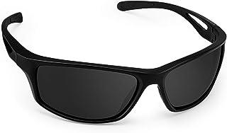 Gafas De Sol, Polarizadas Deportivas Gafas De Sol con Proteccion UV400 & TR90 Súper Ligero Marco Gafas para La Pesca, el Golf, el Ciclismo