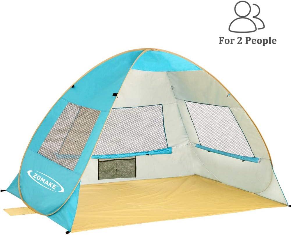 ZOMAKE Wurfzelte Strand werfen Zelte